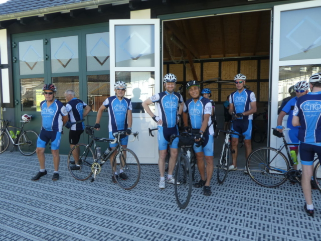 CITO-Radsportwochenende 2019, Fahrt nach Dorlar