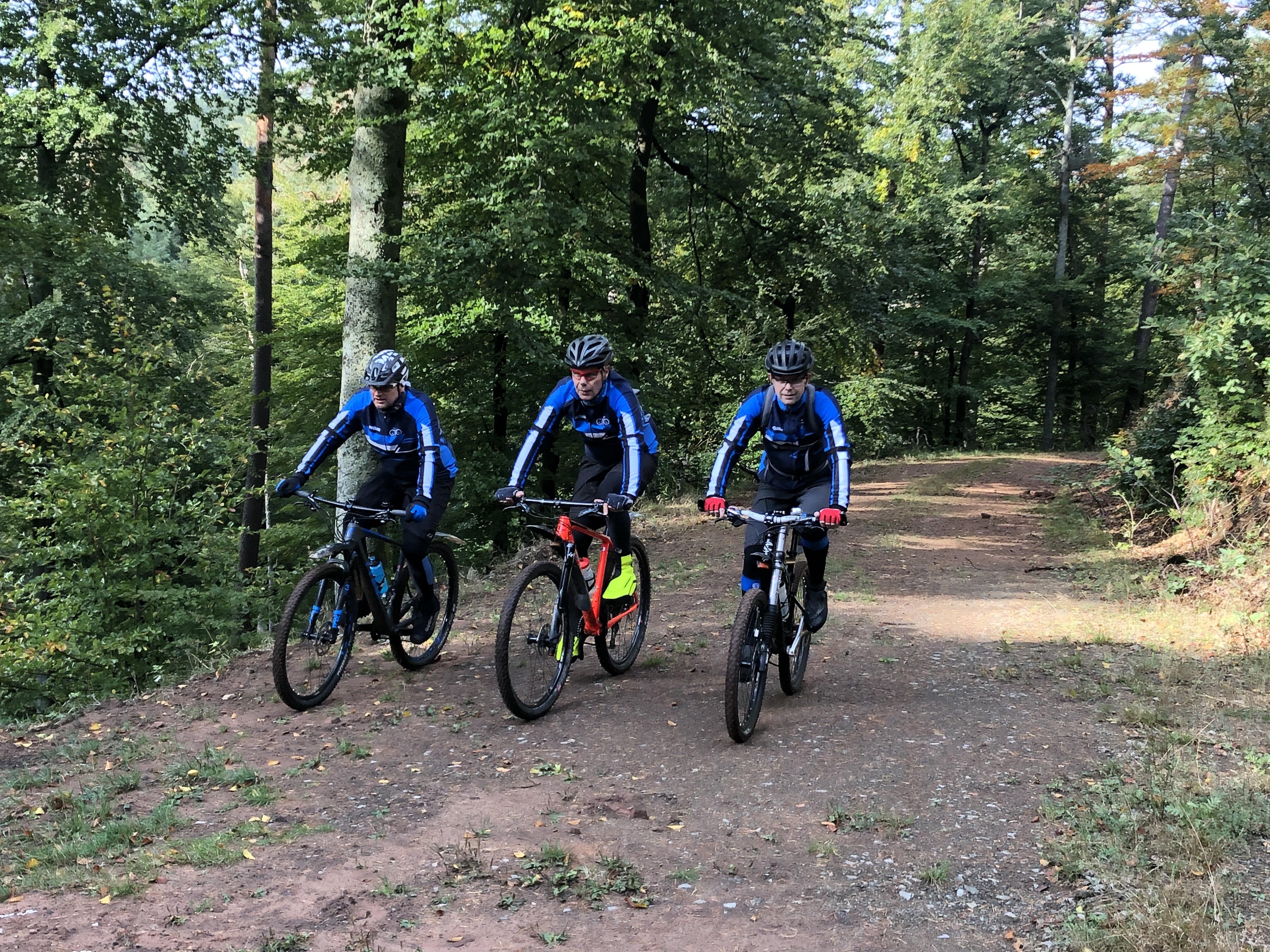 Mountainbiketour, Foto: Bernd Doelp (2019)
